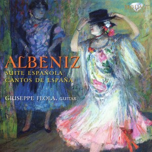 Giuseppe Feola - Albeniz, cd cover